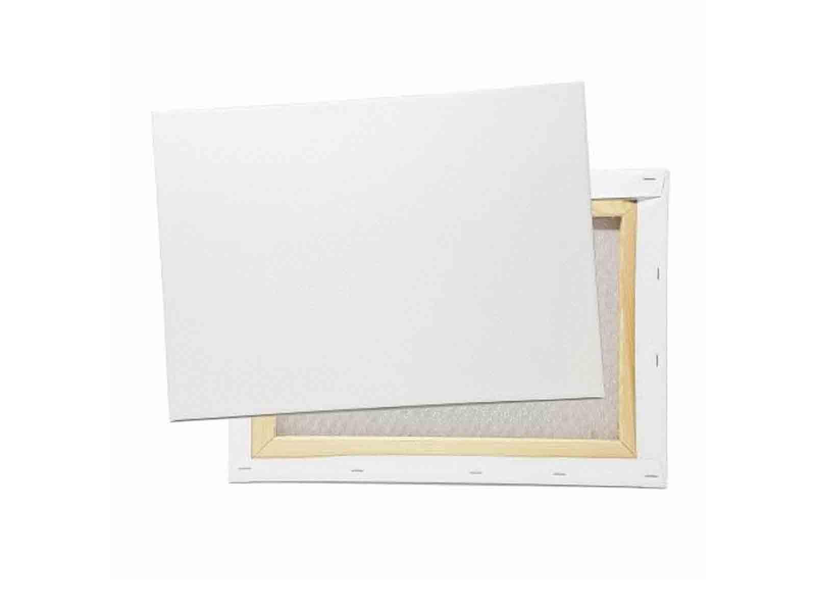 12137 Formato 30 x 30 cm dise/ño preimpreso para Colorear con Pinturas acr/ílicas Blanco Acuarelas y /óleos y rotuladores de Colores Honsell-Bastidor an/émonas
